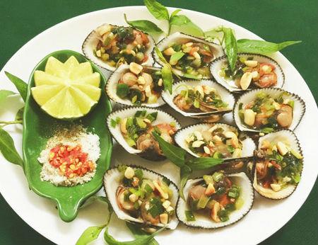 Siêu ngon miệng với món sò lông nướng mỡ hành thơm lừng căn bếp nhỏ !