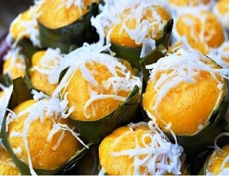 Bánh bò thốt nốt, đặc sản nổi tiếng Châu Đốc