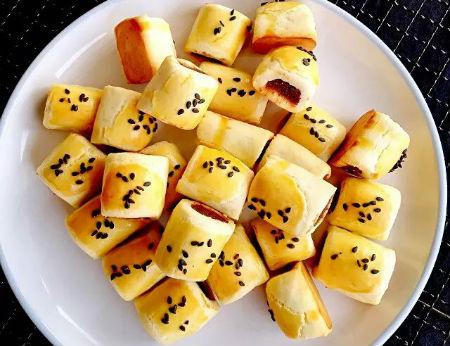 Bánh đậu đỏ lạ miệng nhâm nhi bữa sáng quá hợp