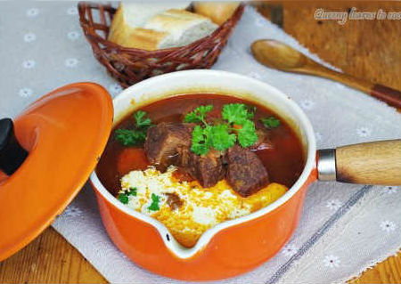 Cách làm món Bò hầm kiểu Hungary