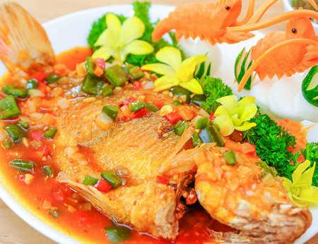Cách làm món cá diêu hồng sốt cà chua cực ngon miệng