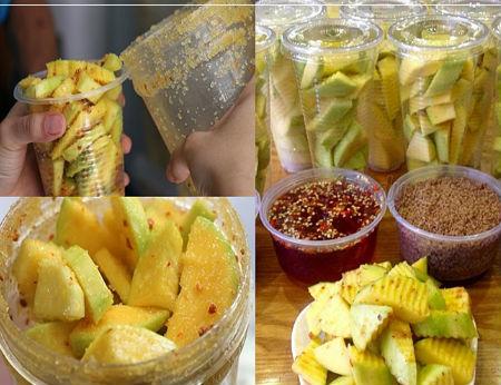 Cách làm xoài lúc lắc món ăn vặt ngon nhất Sài Gòn