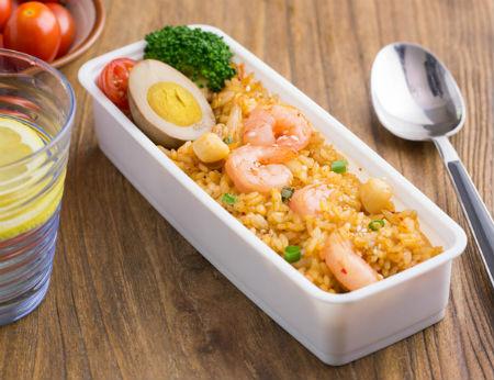 Cơm rang kim chi: Vị ngon khó cưỡng trong 1 món cho bữa trưa đủ chất