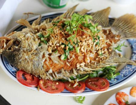 Đặc sản Vĩnh Long: Món cá tai tượng