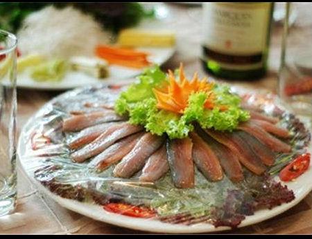 Hấp dẫn gỏi cá Cây Bàng – Kiên Giang