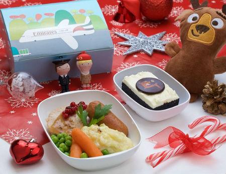 Thực đơn món ăn đặc biệt dịp Noel trên máy bay