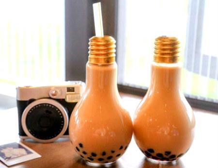 Cơn sốt trà sữa bóng đèn tại Sài Gòn