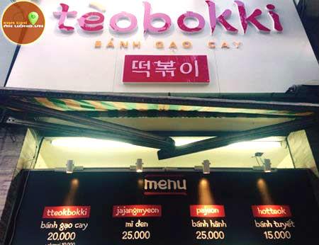 Tèobokki - Đặc sắc phong cách ẩm thực xứ Hàn
