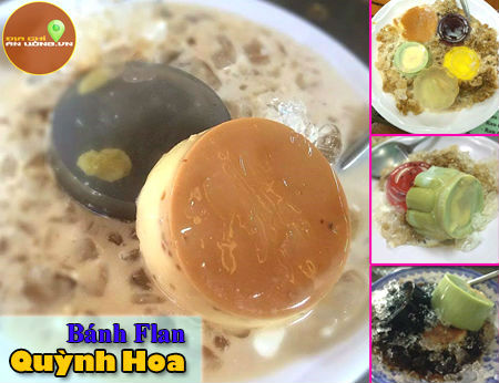 Bánh Flan Quỳnh Hoa - Bánh flan nức tiếng quận 4