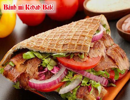 Bánh mì Kebab Balê - bánh mì kebab ngon ở Quận 10