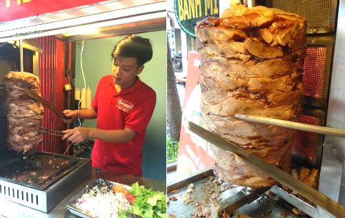 Bánh mì Đỏ, bánh mì kebab ngon giao hàng tận nơi ở bình thạnh