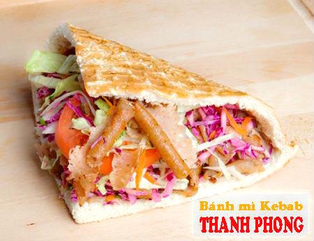 Bánh mì Thanh Phong - Bánh mì Kebab ngon đúng vị Thổ Nhĩ Kỳ