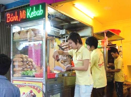 bánh mì kebab thanh phong, bánh mì kebab ngon ở quận 3, bánh mì kebab quận 3