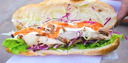 bánh mì kebab ngon ở quận 3, bánh mì kebab thanh phong, bánh mì kebab quận 3