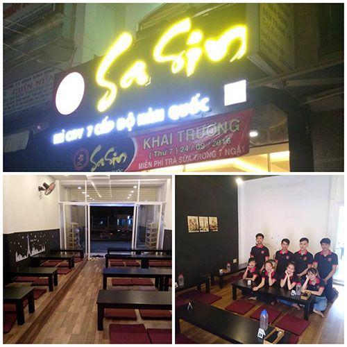 Mì cay SaSin - Mì cay 7 cấp độ Hàn Quốc ở quận 9