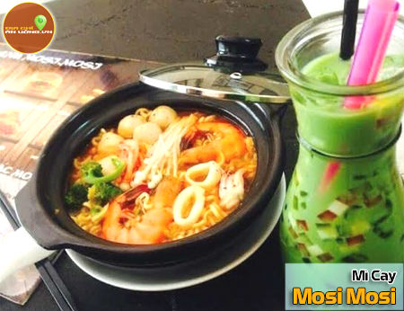 Mì Cay Mosi Mosi - Ẩm thực xứ Hàn cho giới trẻ