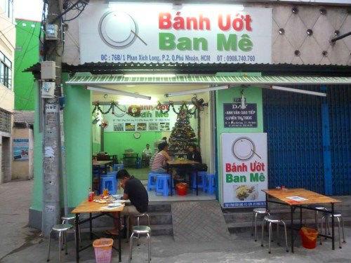 Địa chỉ quán bánh ướt ngon ở quận Phú Nhuận - Bánh ướt Ban Mê
