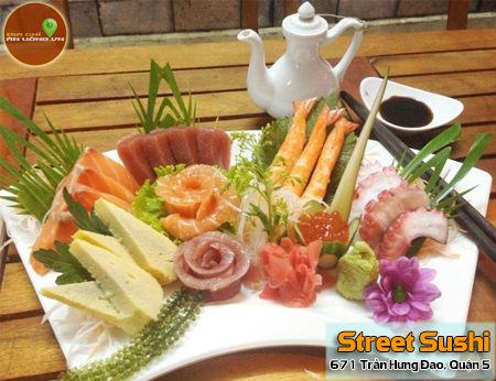 Street Sushi - No căng bụng với sushi đường phố tại Sài Gòn