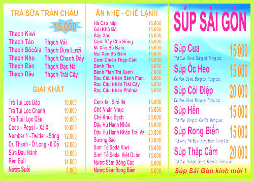 Súp Sài Gòn - Địa chỉ ăn vặt Quận 4 - Ngon bổ rẻ