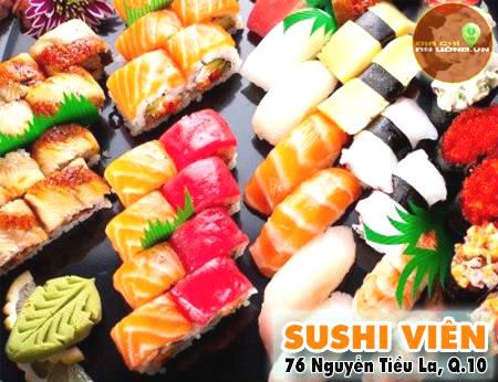Sushi Viên - Ăn là ghiền