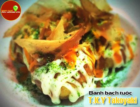 T.K.Y Takoyaki - Bánh bạch tuộc ngon tại Bình Thạnh
