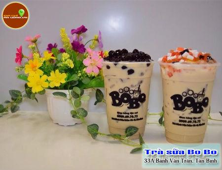Trà sữa Bo Bo - Trà sữa sốt phô mai quận Tân Bình