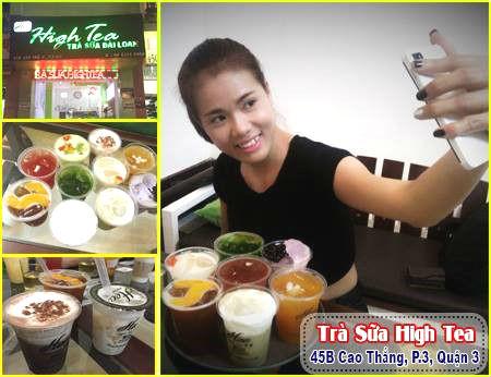High Tea - Hương vị trà sữa Đài Loan tại quận 3