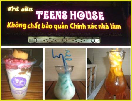 Trà sữa Teens House - Trà sữa phong cách Teen