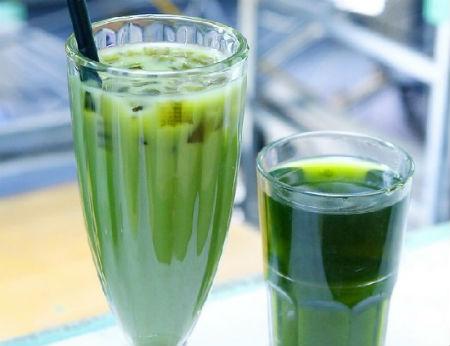 Cách làm trà sữa thái xanh đơn giản tại nhà