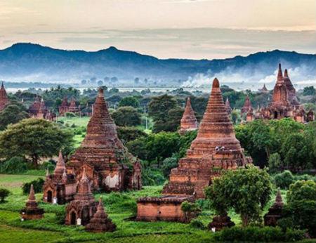 Bí ẩn về các ngôi đền, chùa ở Myanmar
