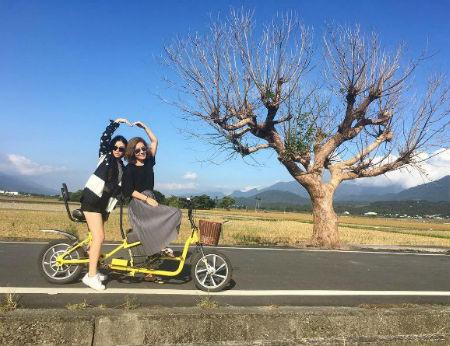 Con đường lúa 'sống ảo' đẹp như tranh ở Đài Loan