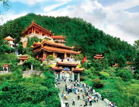 Danh thắng Tây Thiên - điểm du lịch văn hóa tâm linh