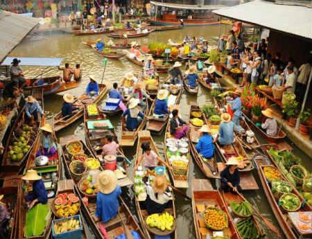 Chợ nổi Cái Răng - Điểm du lịch không nên bỏ lỡ tại Cần Thơ