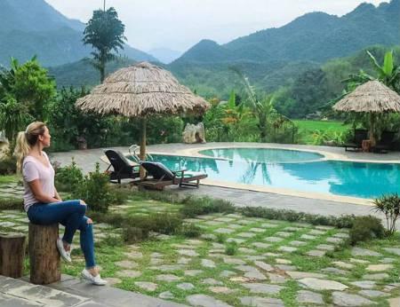 Mai Châu Ecolodge - Resort trên núi cực đẹp thu hút khách du lịch