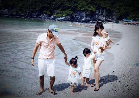 Kinh nghiệm du lịch cùng trẻ nhỏ của vợ chồng ca sĩ Lý Hải