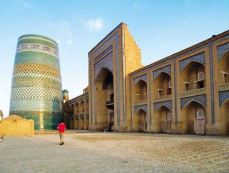 Ốc đảo Khiva, báu vật trên con đường tơ lụa