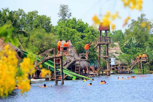 Khu du lịch sinh thái Bò Cạp Vàng - Điểm đến cuối tuần cho bạn