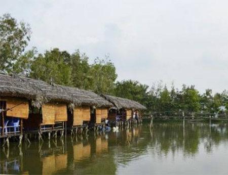 Khu câu cá Trí Râu - Không gian giải trí ngoại ô Sài Gòn