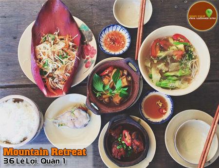 Mountain Retreat - Hương đồng gió nội giữa lòng Sài Gòn