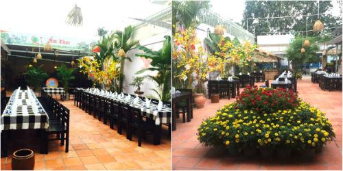 địa chỉ nhà hàng món việt ngon ở thủ đức, nhà hàng ẩm thực quê, nhà hàng sân vườn ở thủ đức