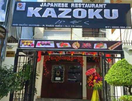 Japanese Restaurant Kazoku