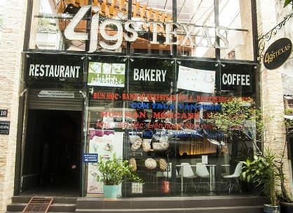 Nhà hàng bánh 4 G's Texas – Nhà hàng bánh ngon quận 1