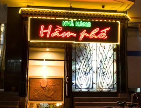Nhà hàng Hầm Phố - Khám phá lòng đất Hà Nội