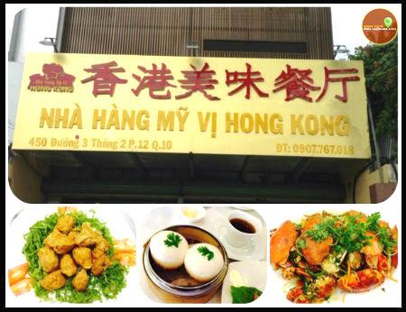 Nhà hàng Mỹ Vị Hong Kong - Hương vị Hồng Kông đích thực