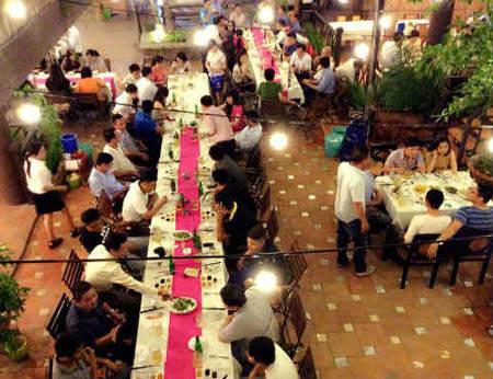 Nhà hàng Thoáng Việt – Nhà hàng Sân Vườn Quận Phú Nhuận