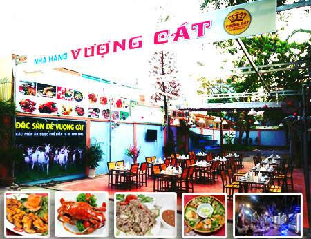 Nhà hàng Vượng Cát - Khu vườn Ẩm thực ngoài trời lý tưởng ở quận 2