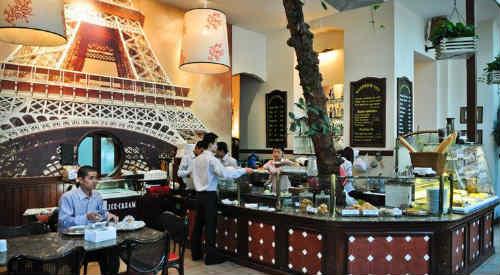 Nhà hàng bánh, cafe Paris Deli - 6 Phan Chu Trinh