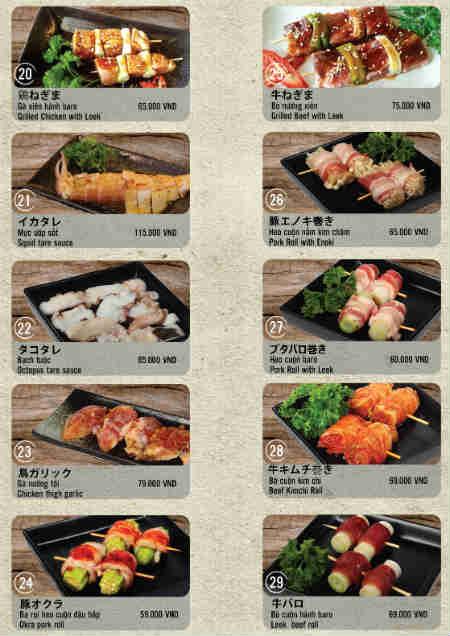Yakiya Japanese Restaurant – Nhà hàng nướng ngon quận 7