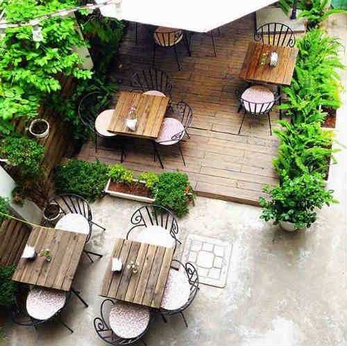 Cup of tea cafe & bistro không gian thân thiện và xanh mát