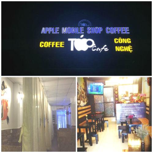 Apple Coffee - Café tình nhân ở Sài Gòn